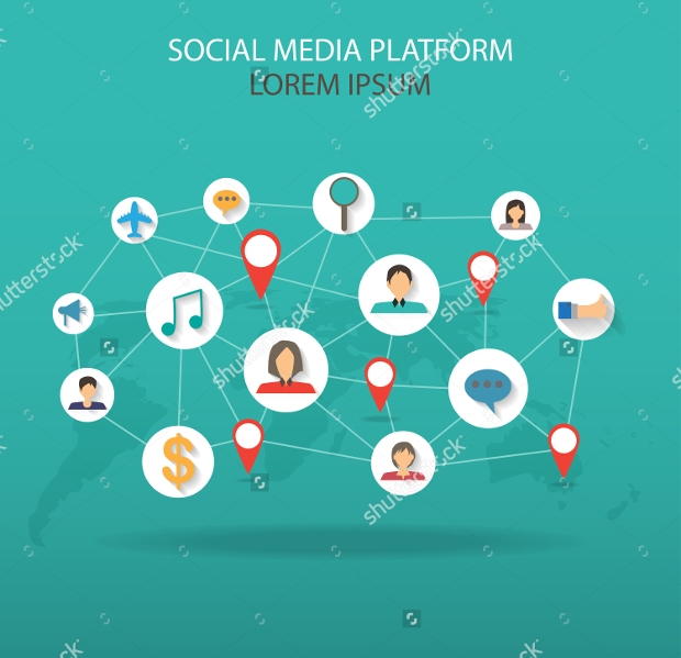 Social Media Infographic Element Design