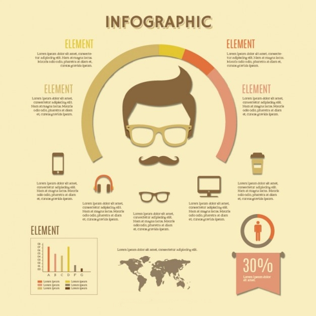 retro-hipster-infographic-design