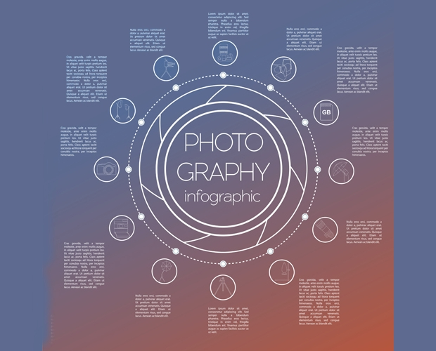 Modern Photography Infographic