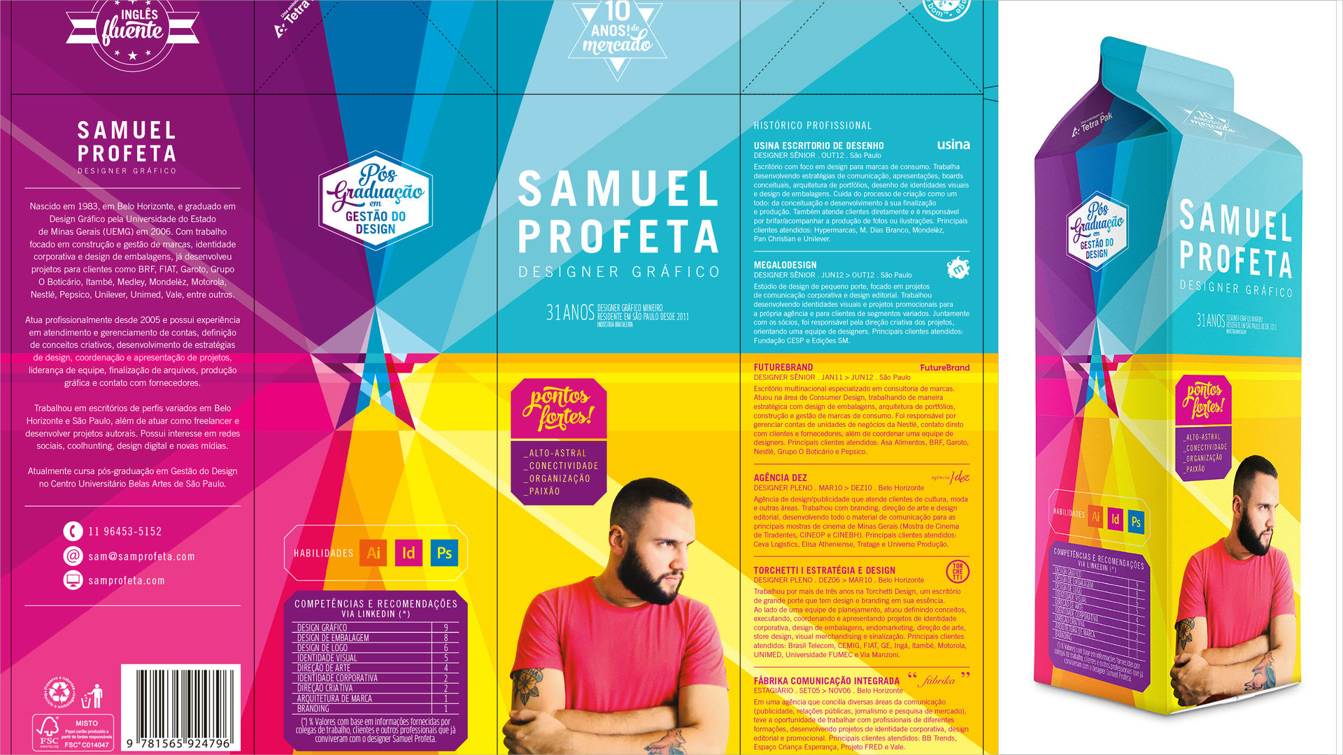 9 Creative Graphic Designer Resume Design Trends Premium Psd