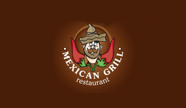 mexican grill restaurant logo