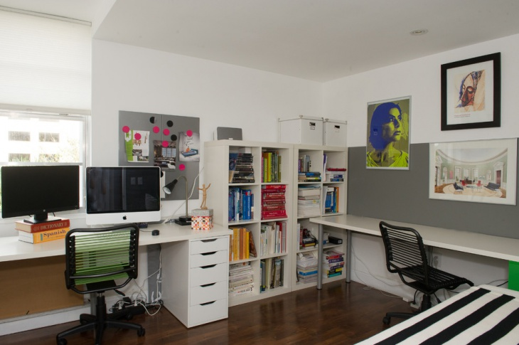 small apartment home office design