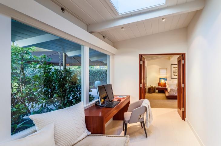 beach cottage home office design
