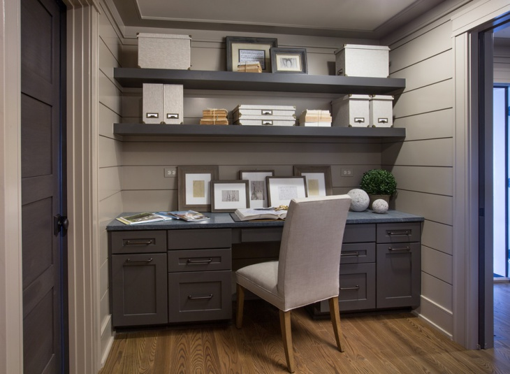 small masculine home office