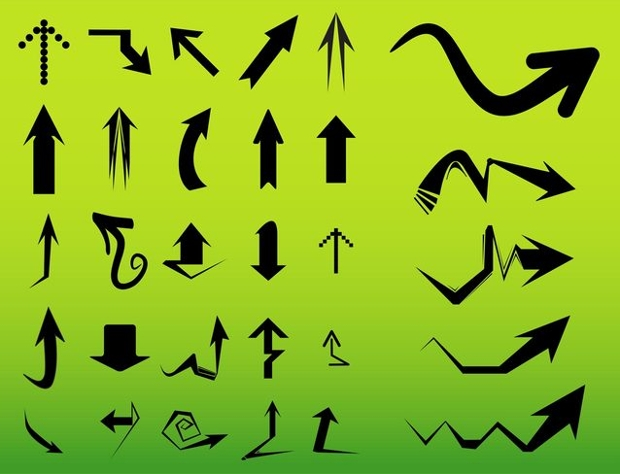 Free Arrows Vector
