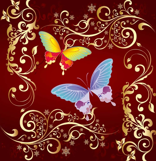 Butterfly Graphics Vector Design