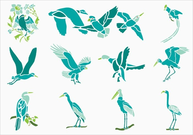 Tropical Bird Vector
