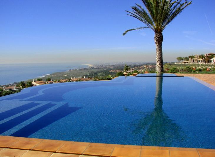 mediterranean infinity pool