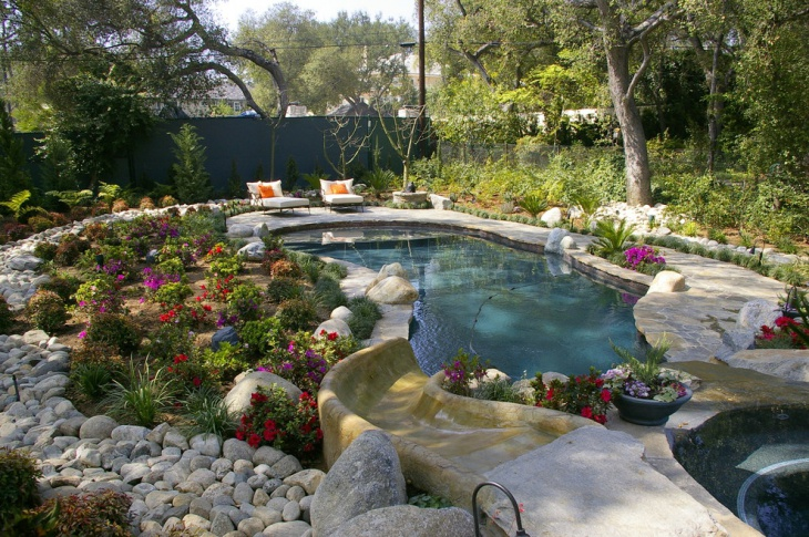47 pool designs ideas design trends premium psd for Landscape design for pool areas
