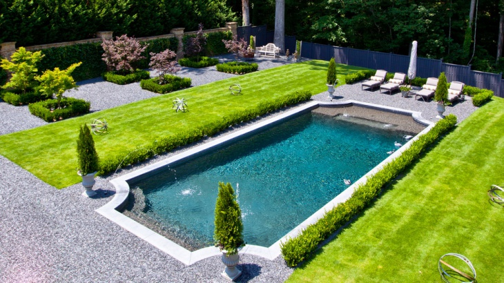 backyard pool garden design