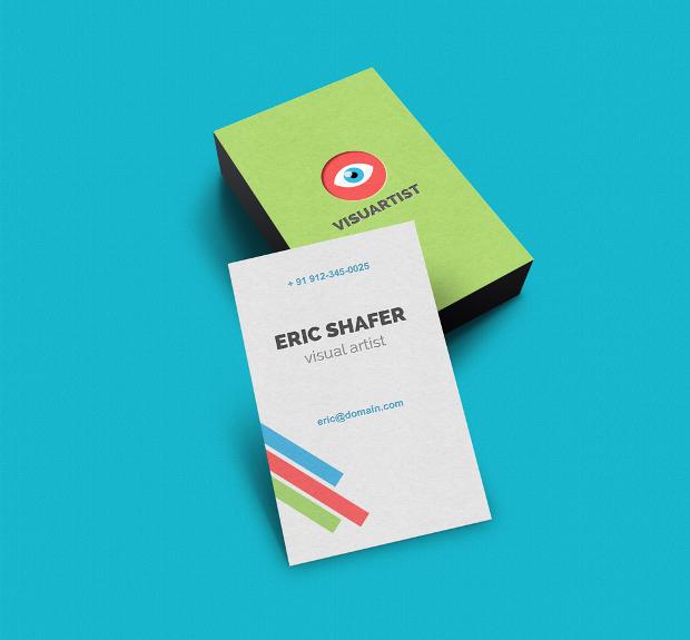 Small Business Card Mockup