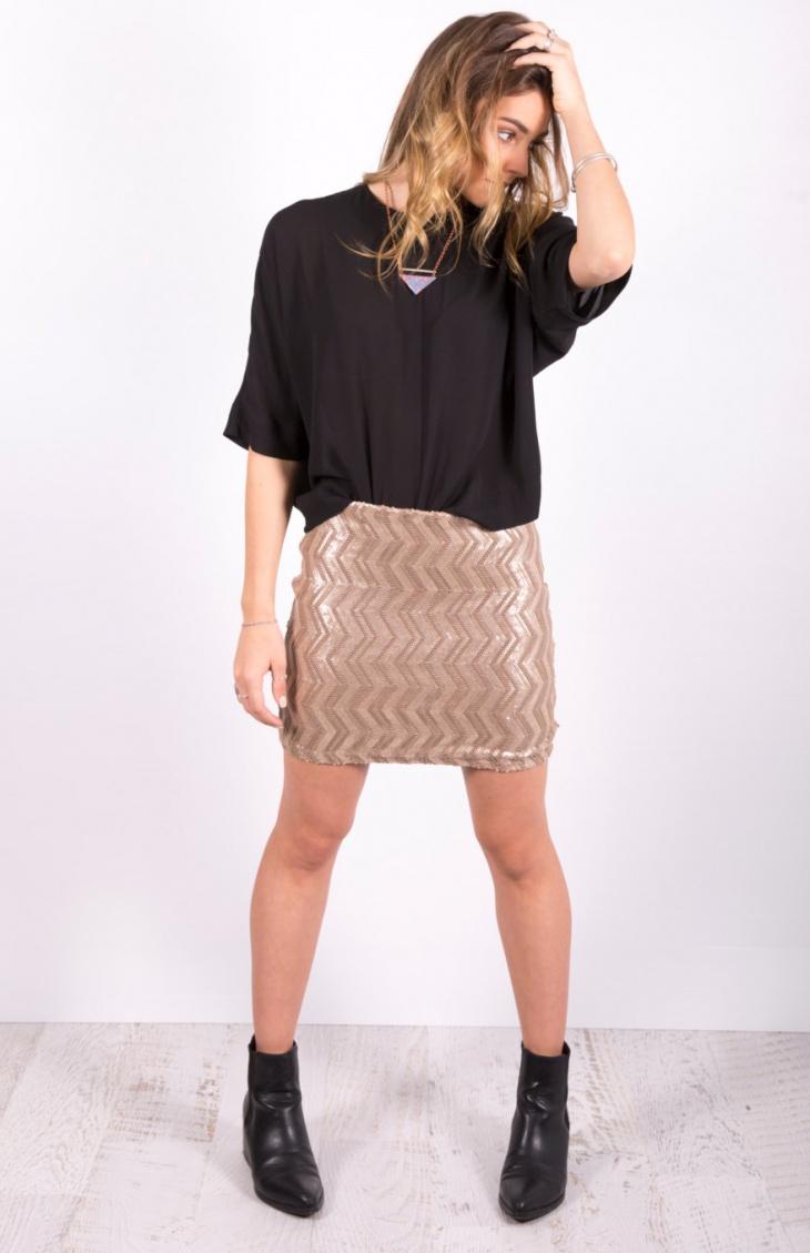 sequin mini skirt design