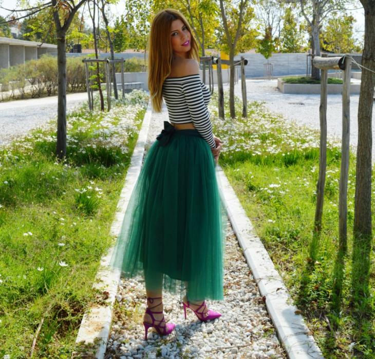 tulle skirt for bridesmaid