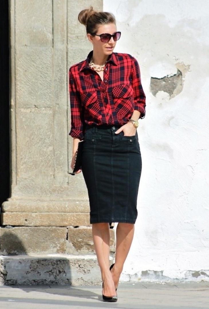 black denim skirt design