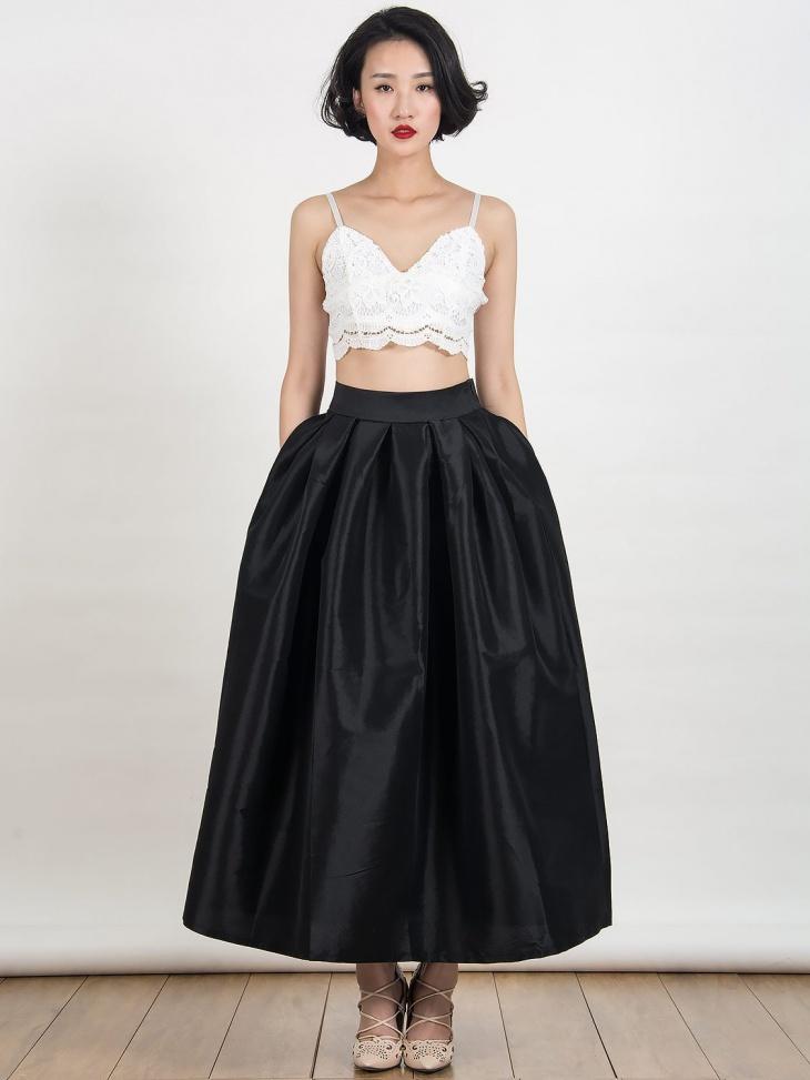 formal maxi skirt design
