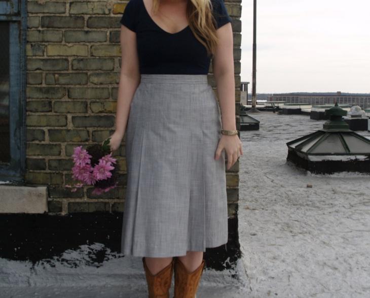traditional high waist skirt