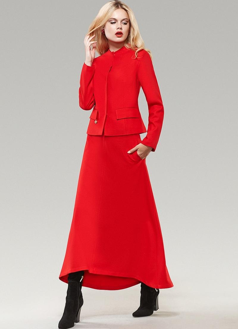 long skirt suit design