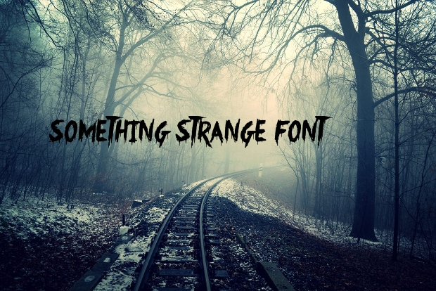 halloween scary font