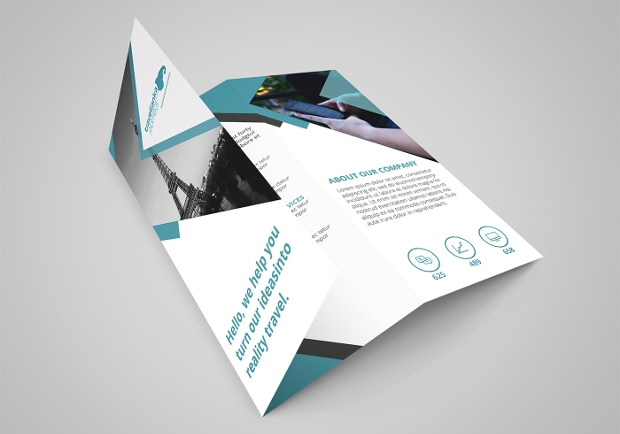 Sample Trifold Travel Brochure