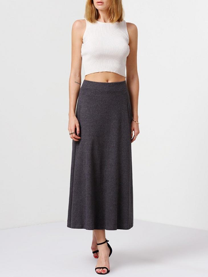 long a line skirt design