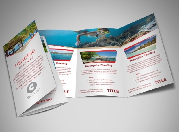 Travel Agency Tri Fold Brochure