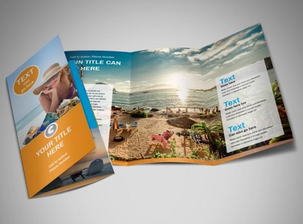 Sunny Travel Brochure