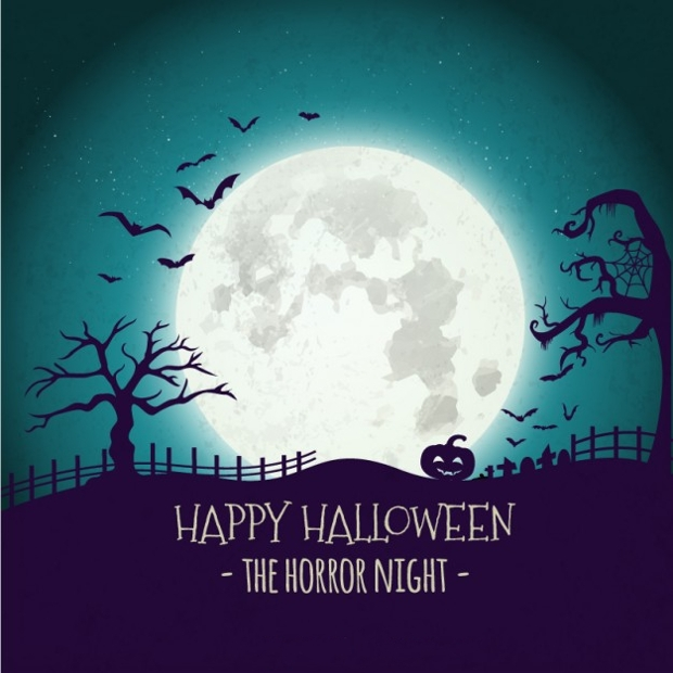 happy halloween background