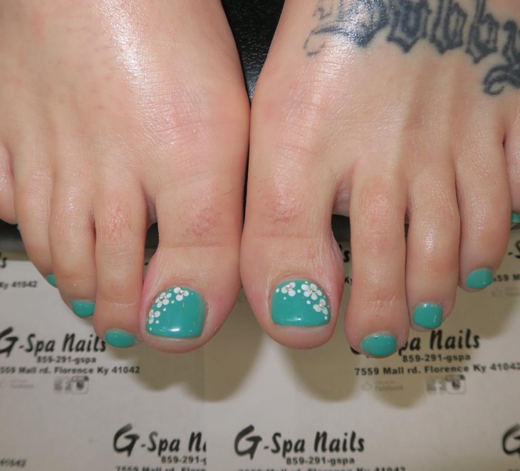 Foot Nail Art Design: 44+ Toe Nail Art Designs, Ideas