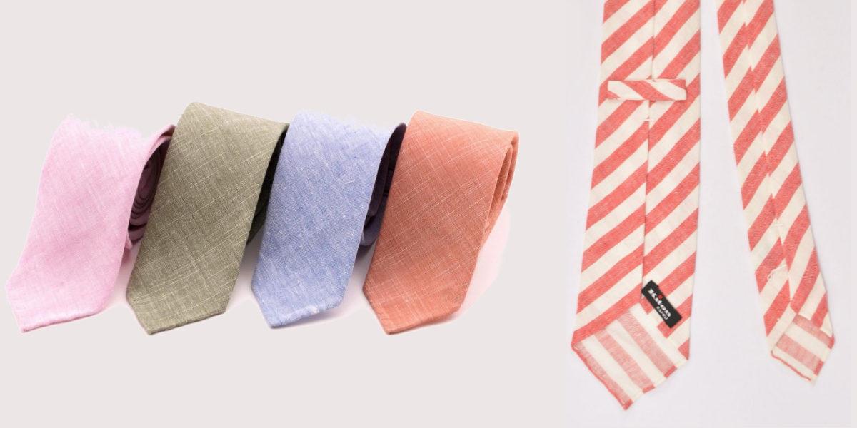 linen necktie 1