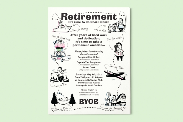 retirement-party-flyer