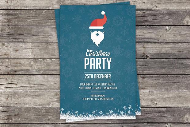 Party Invitation Flyer