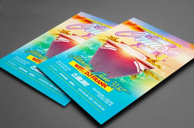 Summer Cruise Party Flyer