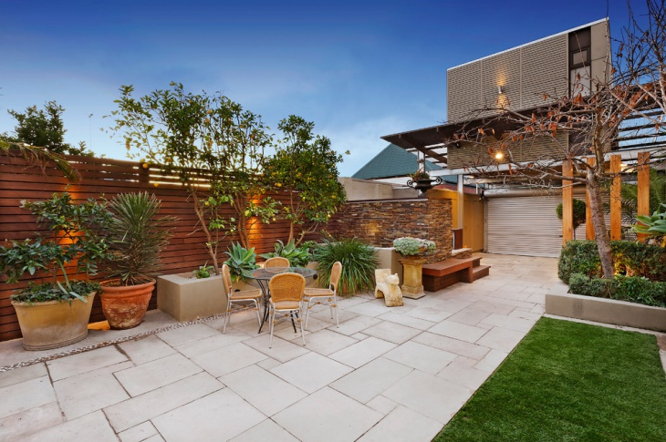 backyard paver patio design1