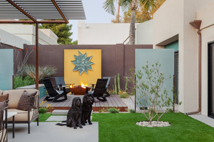 modern small backyard design
