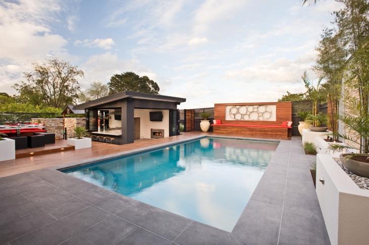backyard pool bar design