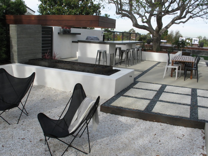 49 backyard designs ideas design trends premium psd for Concrete patio ideas for small backyards