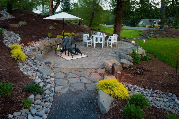 49 backyard designs ideas design trends premium psd for Landscaping rock removal
