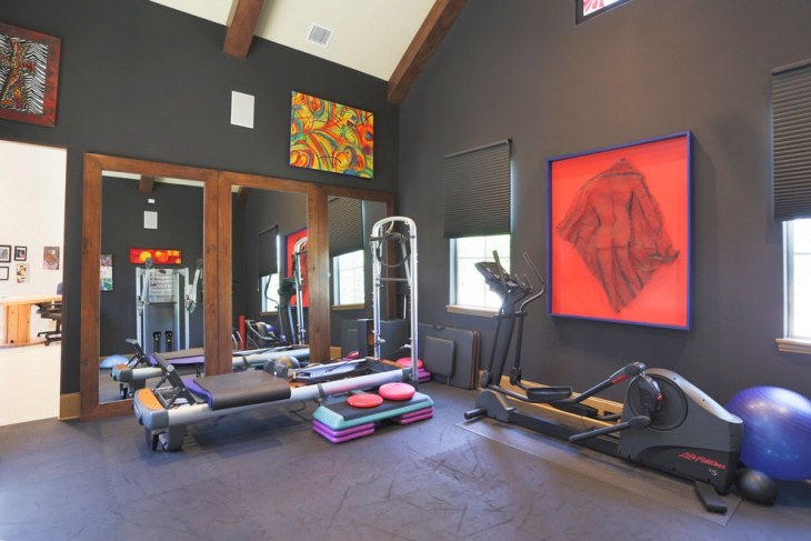 45 home interior designs ideas design trends premium for Home gym interior design
