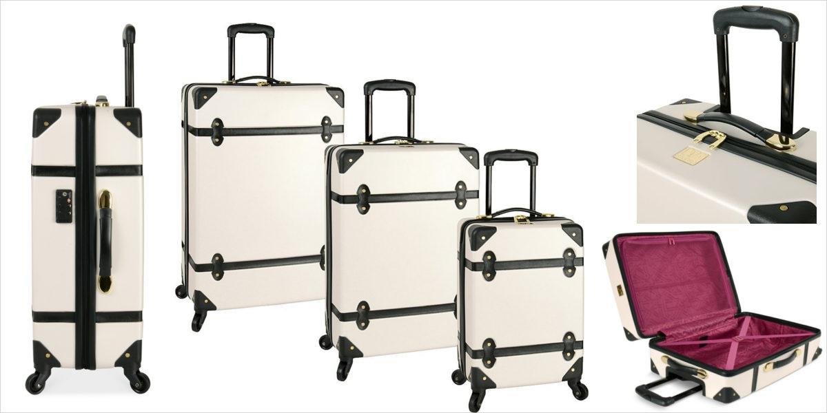 diane von furstenberg adieu hardside spinner suitcase