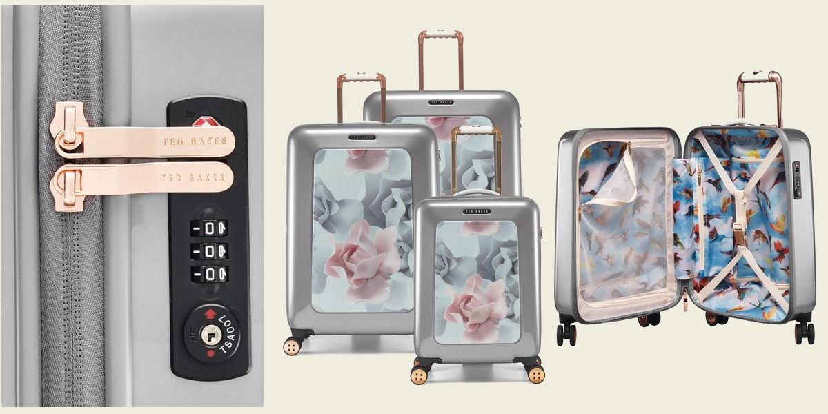 ted baker london small porcelain rose suitcase