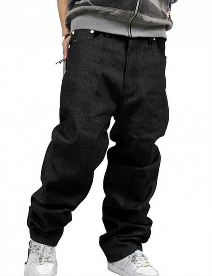 denim hip hop baggy jeans