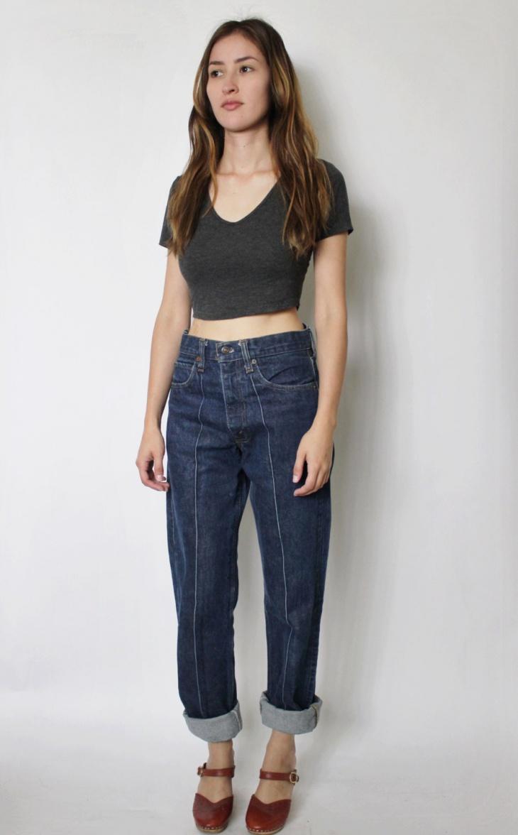 vintage levis high waist jeans