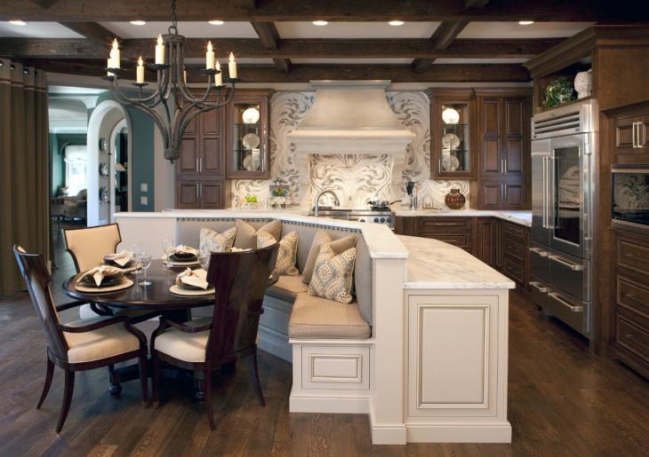 victorian home kitchen interior