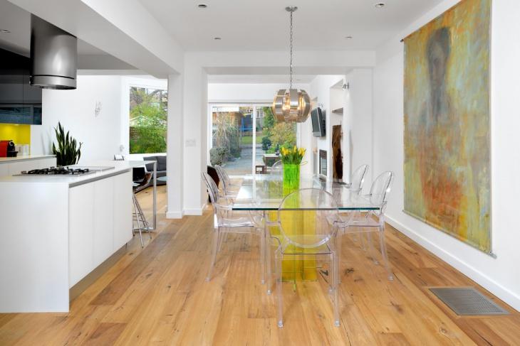 white modern home interior design