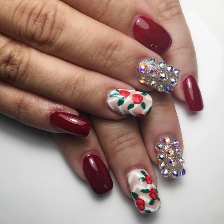 square stiletto acrylic nails
