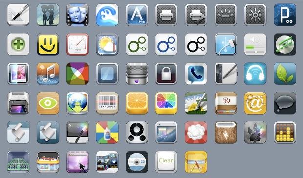 iPhone App Icon Designs