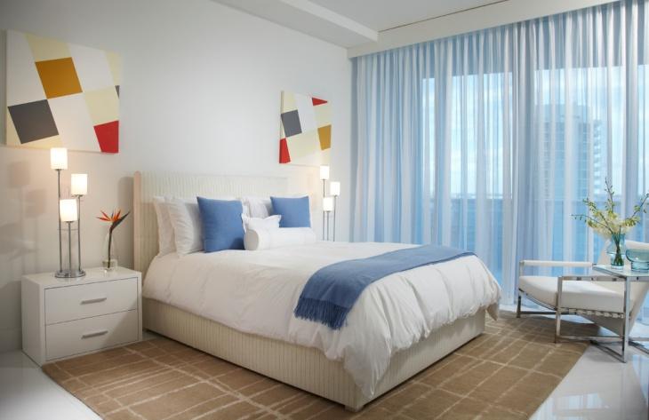 contemporary home bedroom interior design