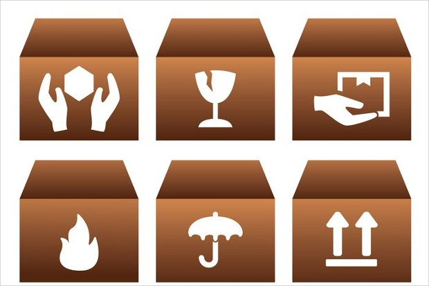 Product Box Icon Designs