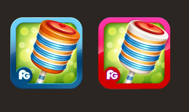 iPhone Game Icon Designs