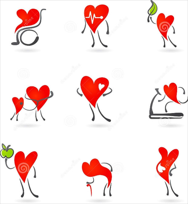 Red Heart Icon Designs
